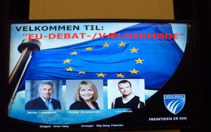 Nej til EU-propaganda for millioner! Venstremanden Løkkegaard i spidsen for EU-frås.
