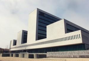 Europols hovedkvarter i Haag. Foto: Europol.
