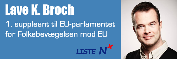 Lave K. Broch – 1. suppleant for Folkebevægelsen mod EU