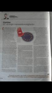 Lave K. Broch: vil at Danmark skal gøre mere for at støtte FN's flygtningeorganisation UNHCR. Denne debatartikel blev bragt som kronik bl.a. i Fyens Stiftstidende og Fyns Amtsavis den 9. marts 2017.