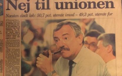Tillykke med 25-året for nejet til Maastricht-traktaten!