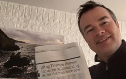 Hvorfor glemmer DR1 og TV-avisen Færøerne og Grønland?